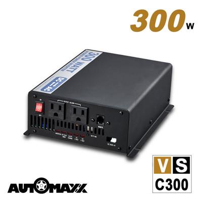 AUTOMAXX ★ VSC300 12V 300W 多功能正弦波電源轉換器 (4.5折)