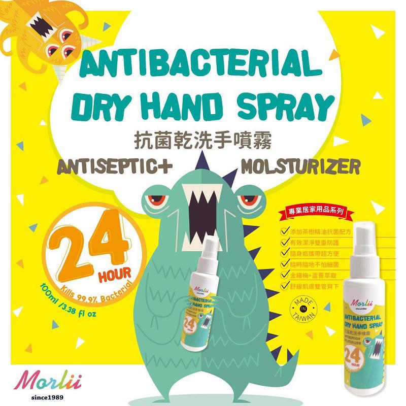 mit抗菌保濕長效行乾洗手噴霧100ml