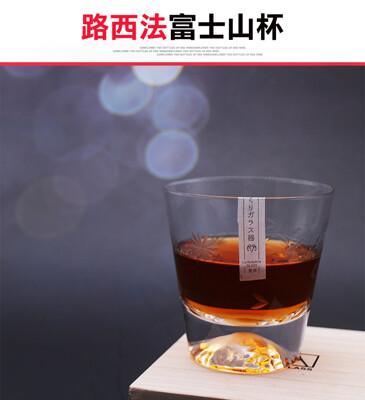 【路西法富士山杯】威士忌杯 酒杯 富士山 玻璃杯 富士山杯 入厝禮 不倒翁杯 烈酒杯 (8.1折)