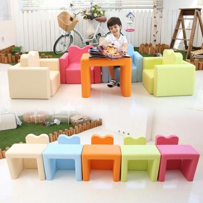 IIZZ POPO 益智寶寶積木沙發 兒童節禮物 多功能 兒童書桌 椅 幼兒 兒童餐椅 餐桌 收納 (9.5折)