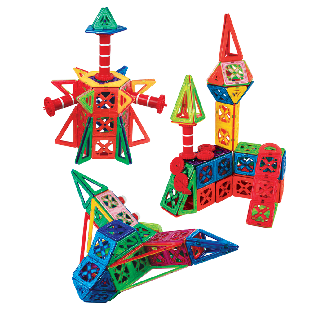 ginimag划算補充包 磁性建構片 積木 益智玩具 磁鐵玩具(magformers相容)