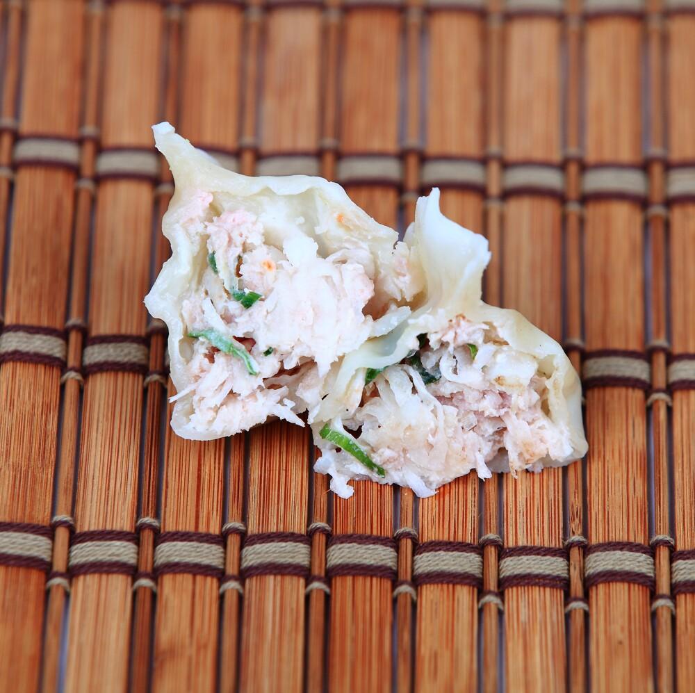 好食上-蘿蔔蝦皮豬肉水餃 青島 傳統水餃 冷凍水餃 手工水餃