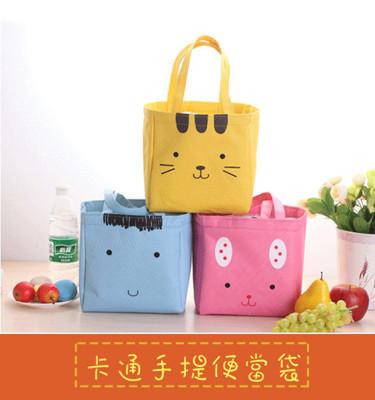 【JK SHOP】卡通手提保溫便當袋 便當盒 手提包 手提袋(E220) (3.8折)