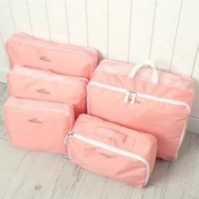 【JK SHOP】旅行收納袋 衣物收納包5件套 手提收納袋 收納袋五件套組 (E3) (2折)