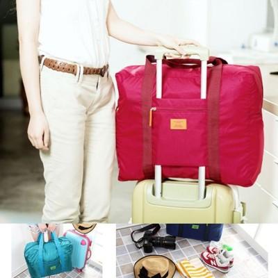 【JK SHOP】行李箱拉桿旅行收納袋 多功能旅行收納包  尼龍折疊式旅行包 (E5) (2.5折)