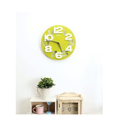 【JK shop】創意簡約簡影3D鏤空立體數位時鐘掛鐘(CL9) (7折)
