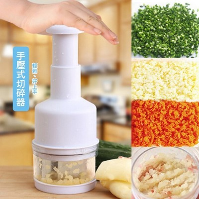 【JK SHOP】洋蔥切碎器 不鏽鋼手壓式切菜器 薑蒜切碎器 碎菜器 蒜泥器(E184) (4.1折)