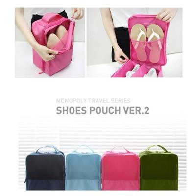 【JK SHOP】旅行 旅遊 手提防水鞋袋收納袋 收納衣物鞋盒(E99) (4.3折)