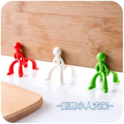 【JK SHOP】創意小人菜板架 砧板架 菜板防黴支架(E173) (1.3折)