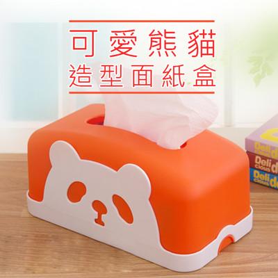 【JK SHOP】卡通熊貓面紙盒 紙巾盒 汽車面紙盒(E284) (5折)