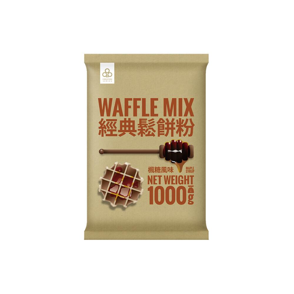 [2包組]開元經典鬆餅粉楓糖風味1kg(81470050-2
