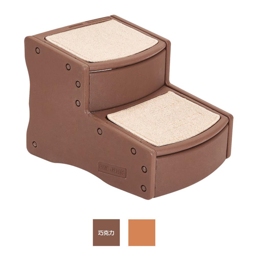 美國 pet gear pg9710 易步二階樓梯-巧克力34kg(82050890