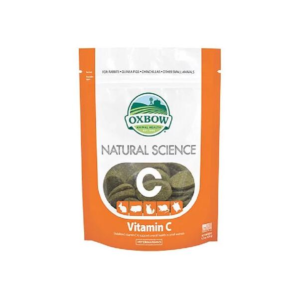 美國oxbow小動物健康御守營養品-每日c寶錠120g(80032278
