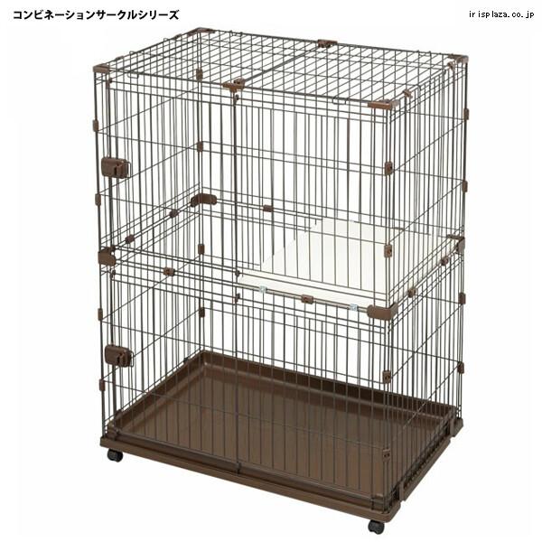 日本iris-ir-pcs-932可組合屋雙層貓籠(81323358