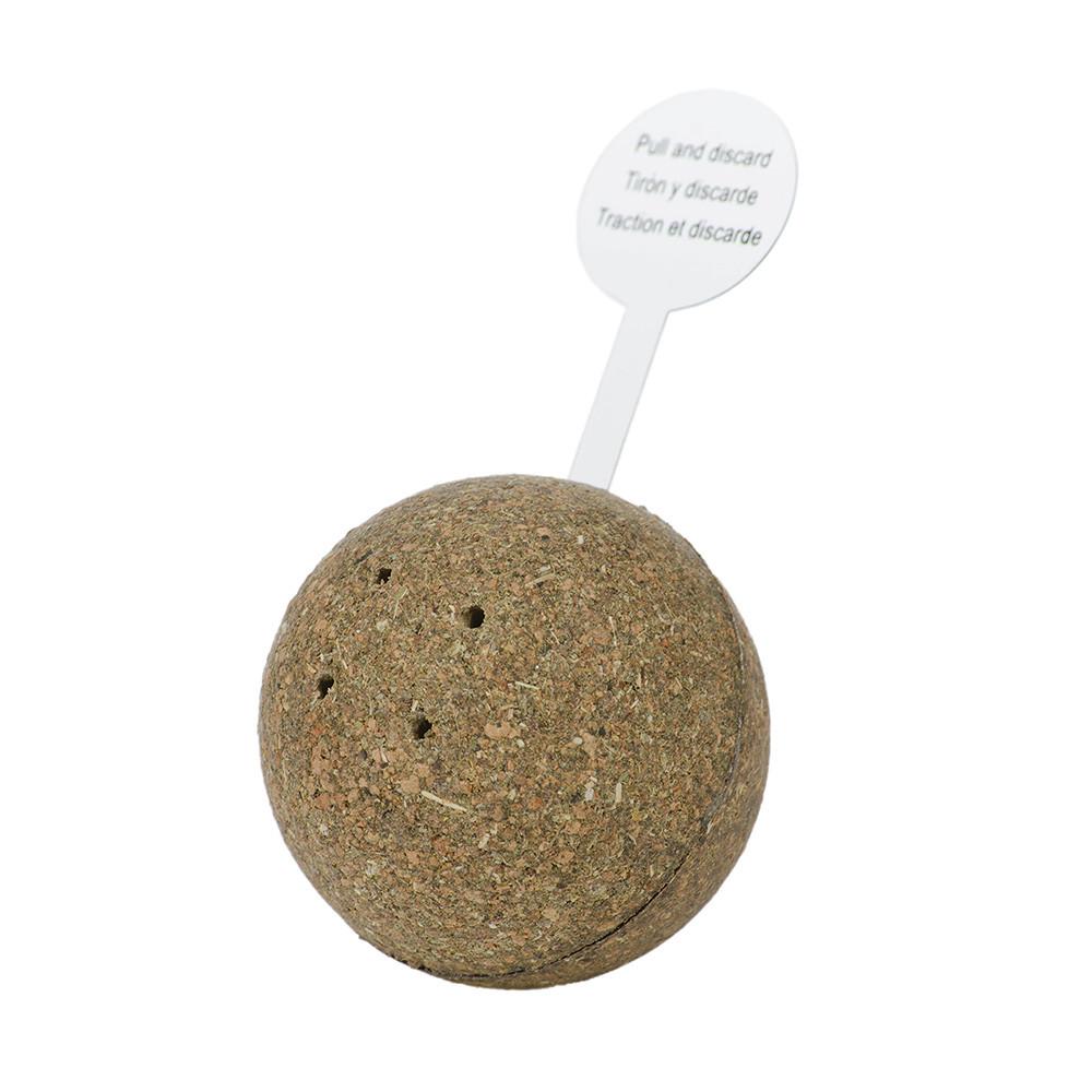 宇宙貓100%壓縮貓草音效玩具-滾滾球(82050710