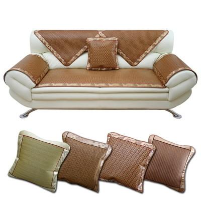 (四款)抗夏 冷涼墊【沙發涼蓆坐墊-單人】涼蓆 涼墊 椅墊 沙發墊 (3.3折)