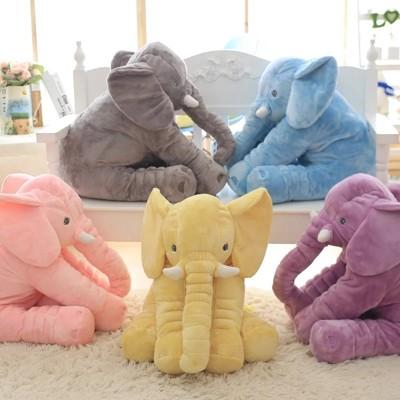 可愛大象抱枕 嬰兒枕 安撫枕 人氣商品 (6.2折)
