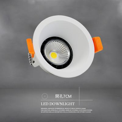 LED崁燈 7cm 6W 白殼 Brian系列崁燈 (5.5折)