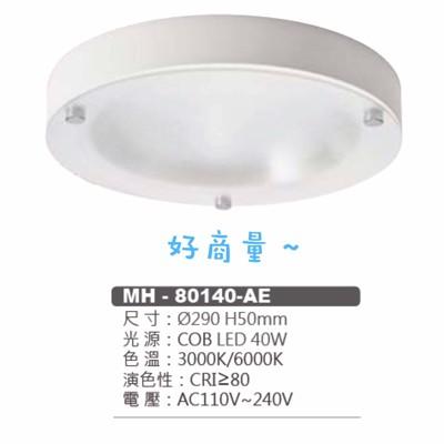 好商量march led 40w 吸頂燈 簡易型 29cm 走道 玄關 陽台 現代款 超薄 (8.2折)