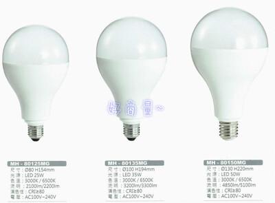 【好商量】MARCH LED 35W 燈泡 大瓦數 全電壓 市場 商場 挑高 大賣場 E27 (6.9折)