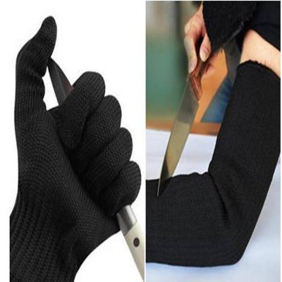 鋼絲耐磨防割手套1雙+鋼絲耐磨防割護腕1雙 (4.2折)