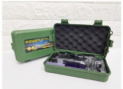 手電筒收納盒 手電筒專用禮盒 手電筒盒子塑膠盒貴重物品收納盒送掛繩 尺寸:200X 110 X 55 (2.1折)