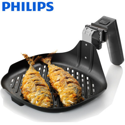 【飛利浦】健康氣炸鍋專用煎烤盤 HD9910(適用於HD9220&HD9230) (6.6折)