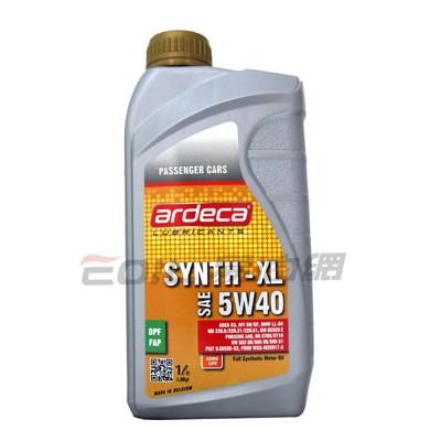 易油網ardeca synth-xl 5w40 c3 全合成機油 汽柴油共用 (10折)