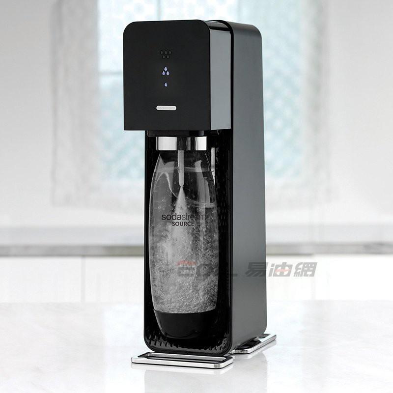 易油網sodastream source 氣泡水機 旗艦型 (黑色)#1519511010