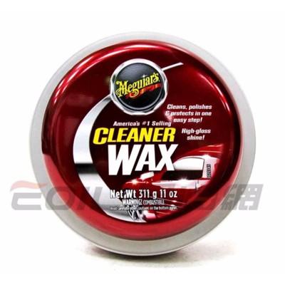 易油網meguiar\'s a1214 美光三合一科技蠟(固態) cleaner wax (10折)