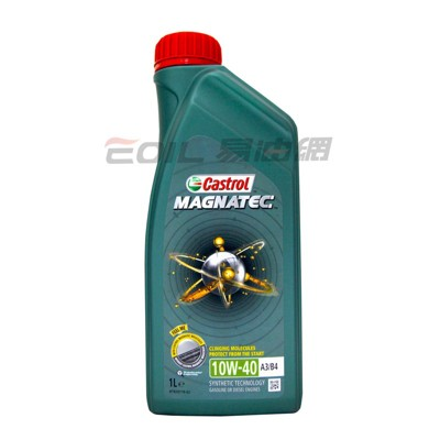 易油網castrol magnatec 10w40 合成機油 #23115 (10折)