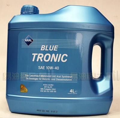 易油網aral blue tronic 10w-40 10w40 亞拉 合成機油 平均一公升170元 (10折)