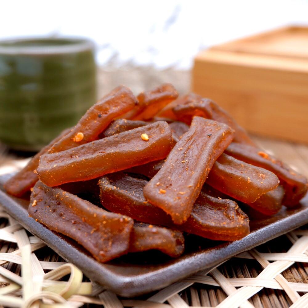 麻辣蒟蒻條 200公克1包  休閒食品系列 嘴甜甜