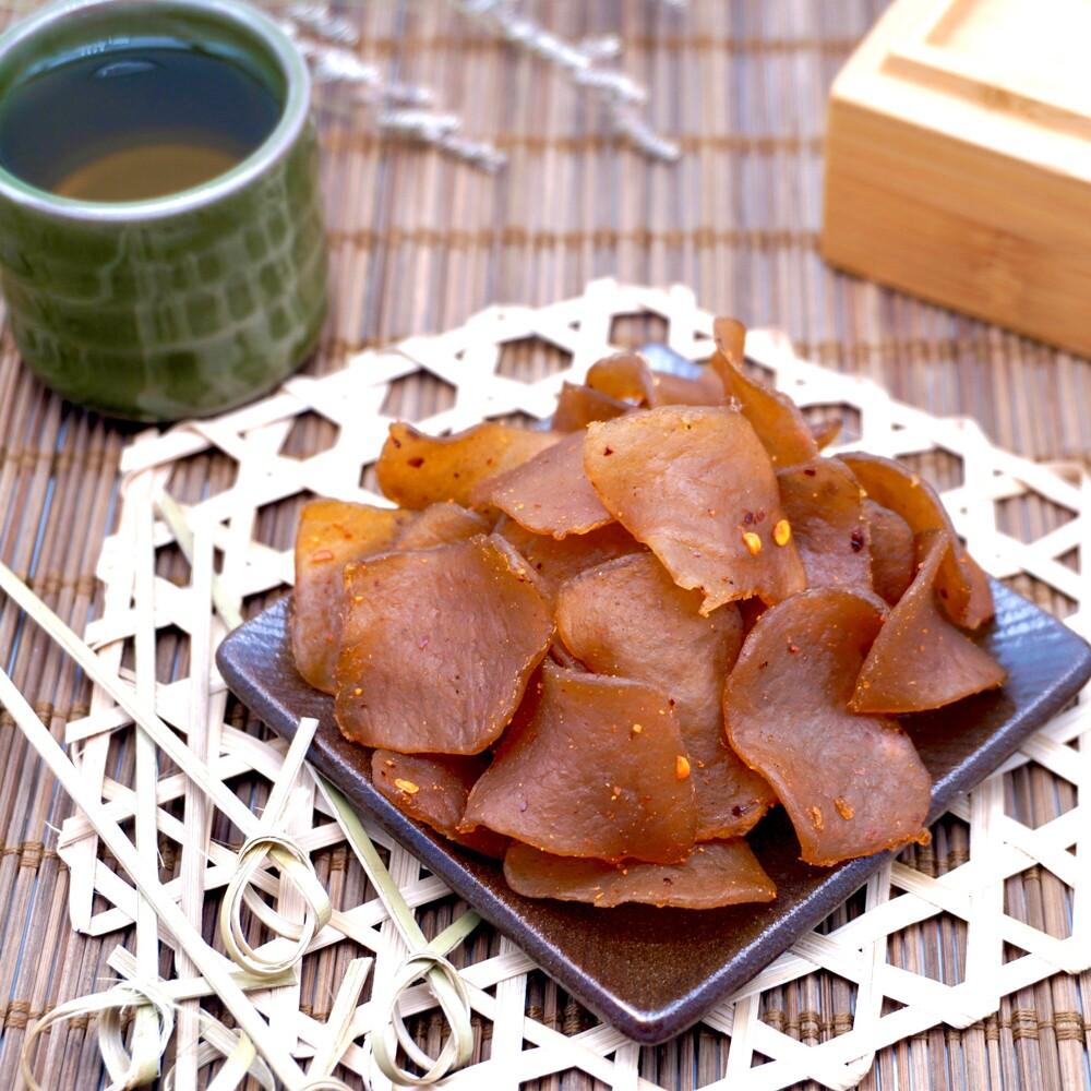 麻辣蒟蒻片 200公克1包  休閒食品系列 嘴甜甜