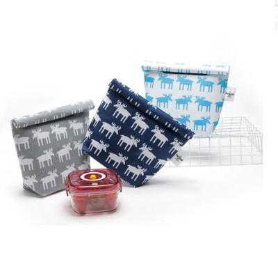 折疊式魔鬼氈便當保潔袋、保溫袋、保冰袋 (6.7折)