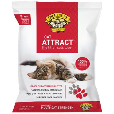 DR.ELSEY'S貓艾歐|貓砂誘引紅-ATTRACT草本訓練40磅 (10折)