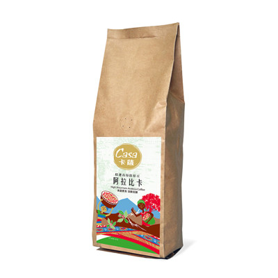 casa卡薩嚴選高海拔 阿拉比卡咖啡豆 (454g/袋) (8.8折)
