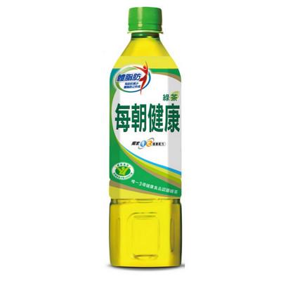 每朝健康 綠茶 650mlX24入/箱 (9折)