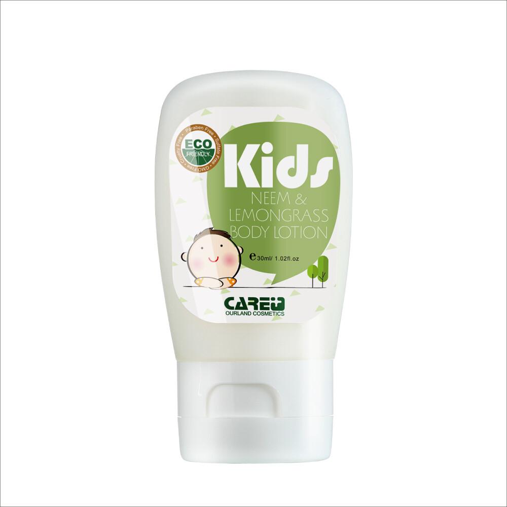 蓓膚美 care+苦楝香茅精油防蚊乳液 30ml 隨身攜帶瓶