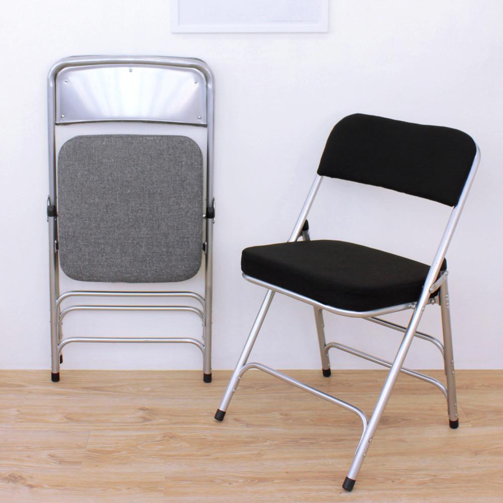 愛家厚型布面沙發椅座(5公分泡棉)折疊椅/洽談椅/工作椅/會議椅/摺疊椅(二色可選)