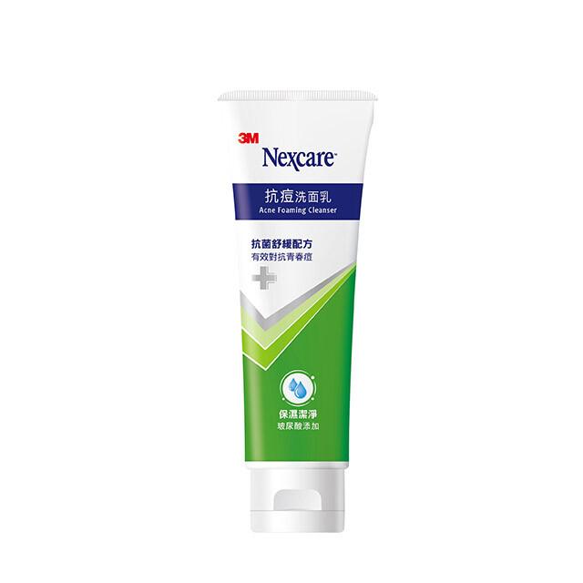 3m nexcare 抗痘洗面乳 ac01n-抗菌舒緩配方 100g