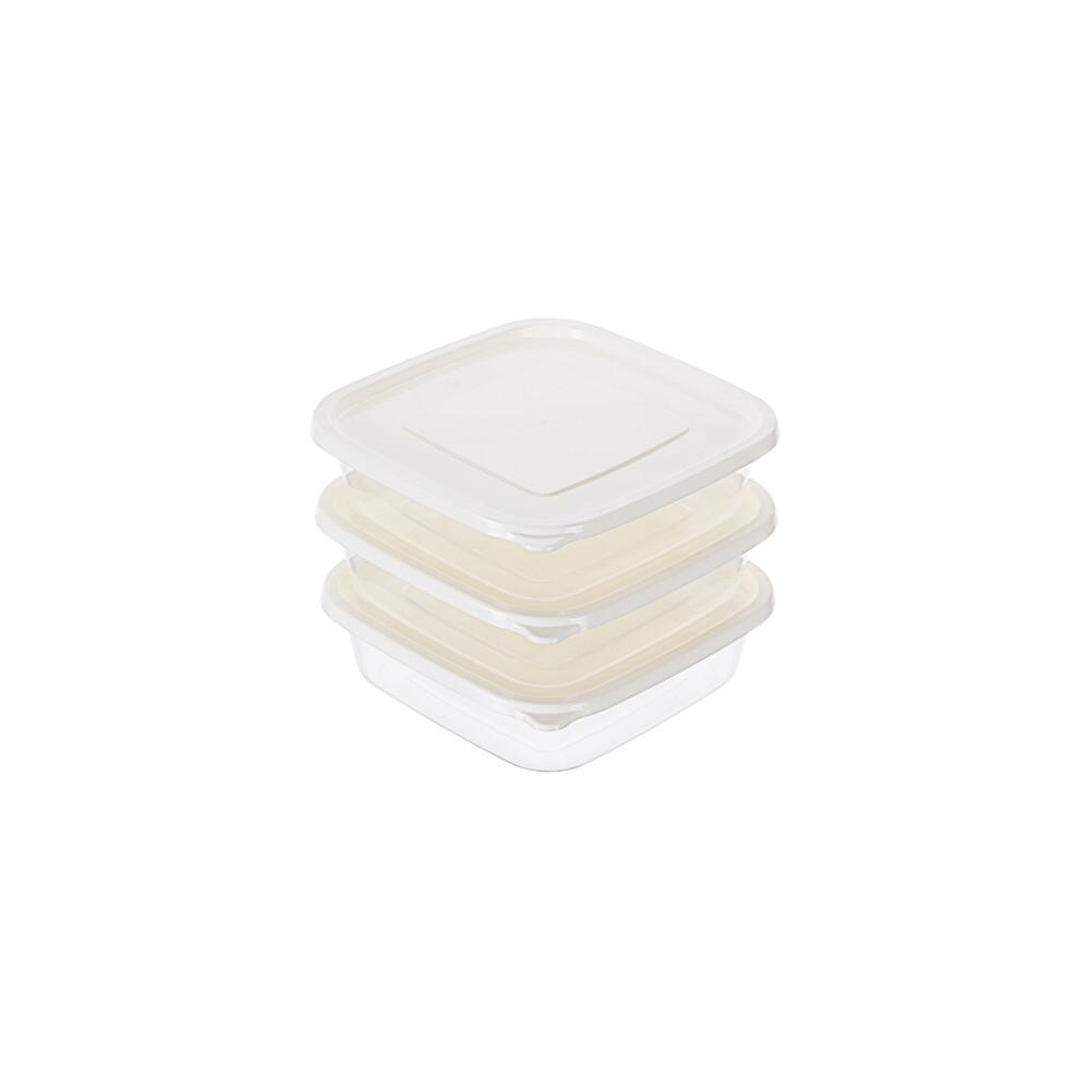 聯府青松方型微波保鮮盒3入 (1500ml) gis1500