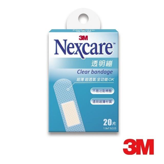 3m nexcare 透明繃 20片裝