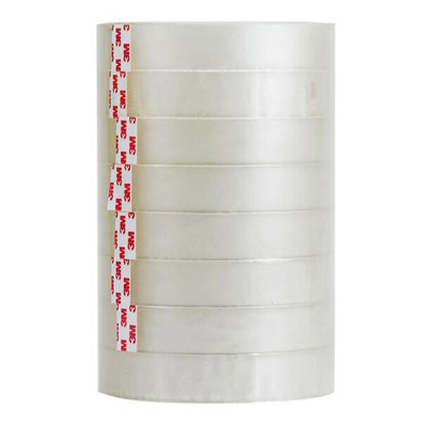3m 透明膠帶-8捲(桶裝) 18mm*40yd