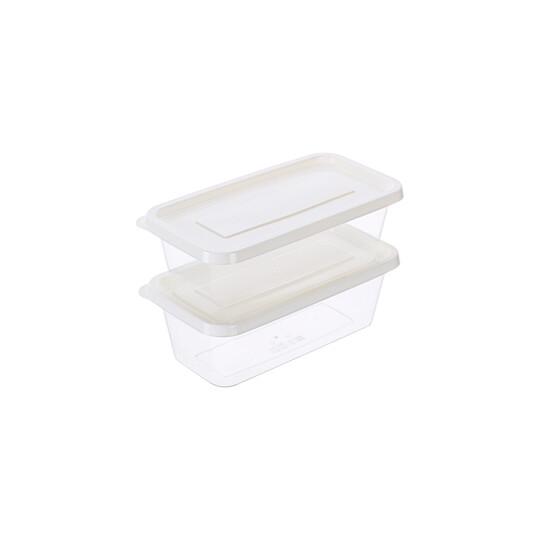 聯府 青松長型微波保鮮盒2入 (1600ml) gir1600