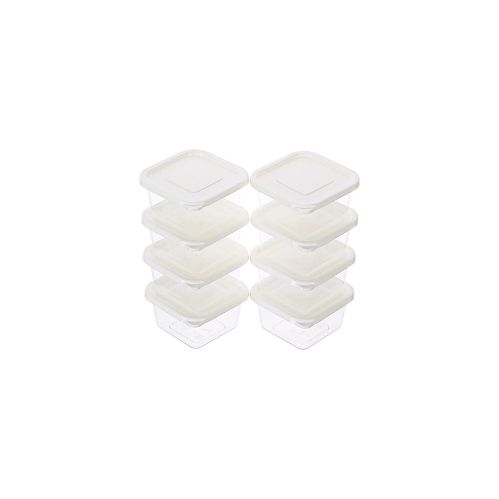 聯府青松方型微波保鮮盒8入 (150ml) gis150