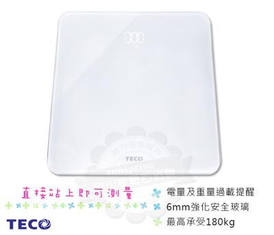 TECO東元LED魔術體重計XYFWT702 (5折)