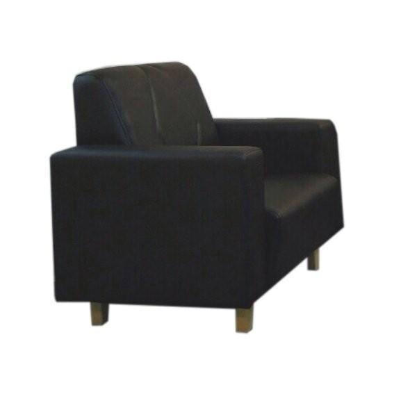 !新生活家具! 寧靜之夜皮沙發 黑 單人座 單人椅 主人椅 一人座 一人位 單椅 辦公室沙發