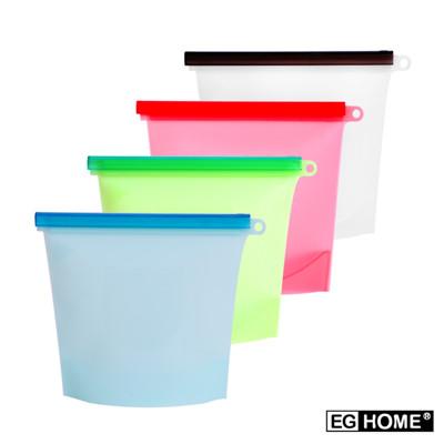 矽膠密封食物保鮮袋/收納袋/便當袋 (5折)