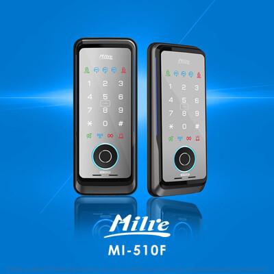 Milre美樂三合一密碼/指紋/卡片智能電子門鎖MI-510F(附基本安裝) (8折)